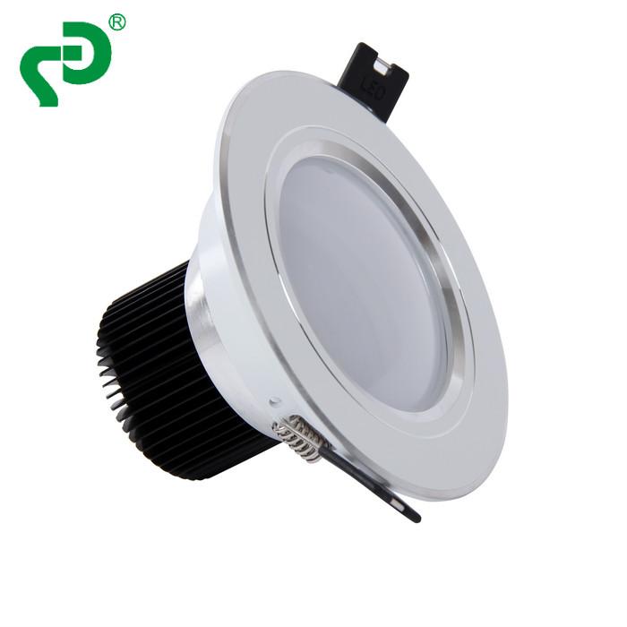 LED筒灯3寸5W三色变光