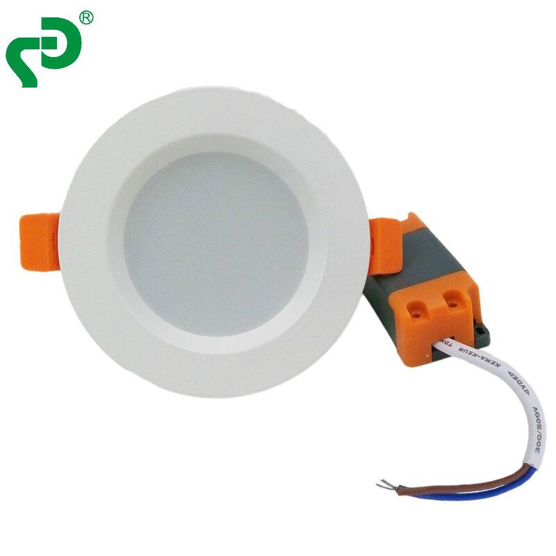 6寸15瓦纯白LED筒灯